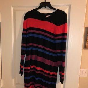 Merona striped sweater dress